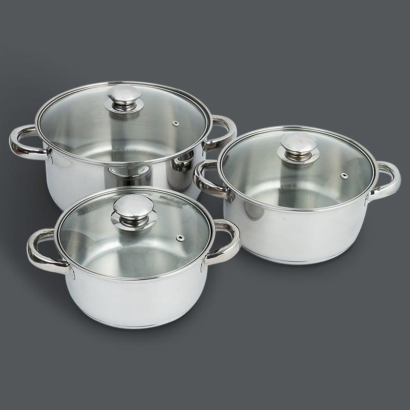 Set of pots